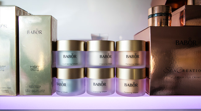 Babor Beauty Spa Dongen producten in de schoonheidssalon